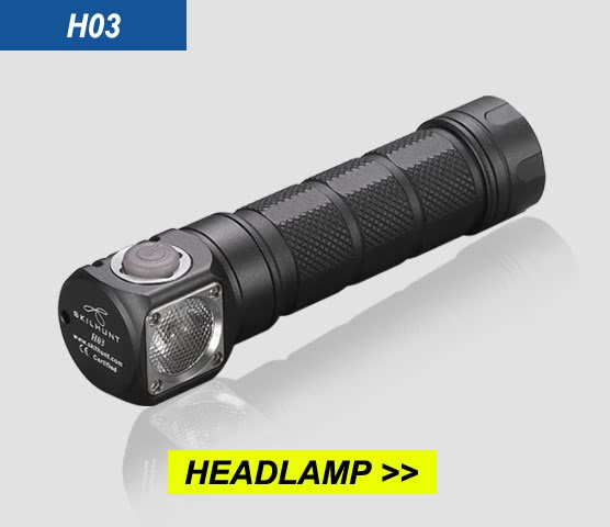 H03 LED headlamp Show 1