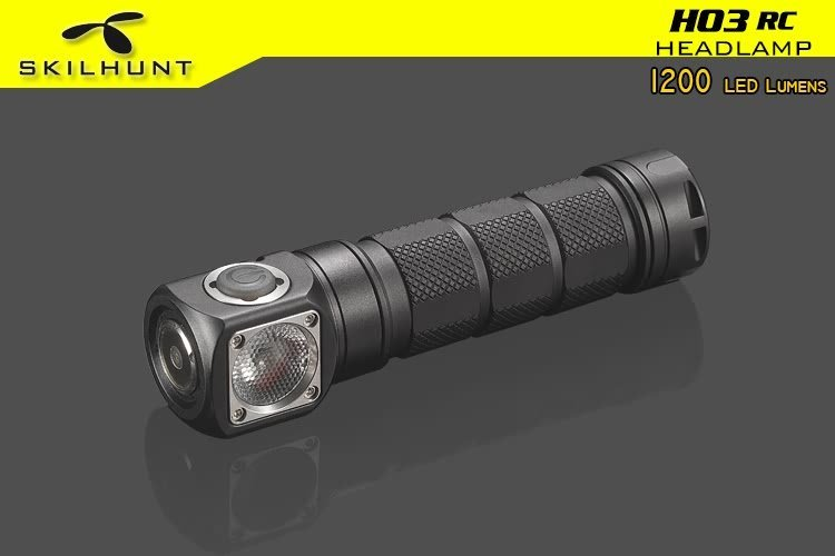 H03 RC USB magnetic rechargeable LED headlamp 1