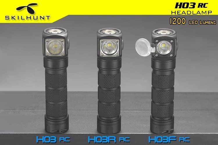 H03 RC USB magnetic rechargeable LED headlamp 2