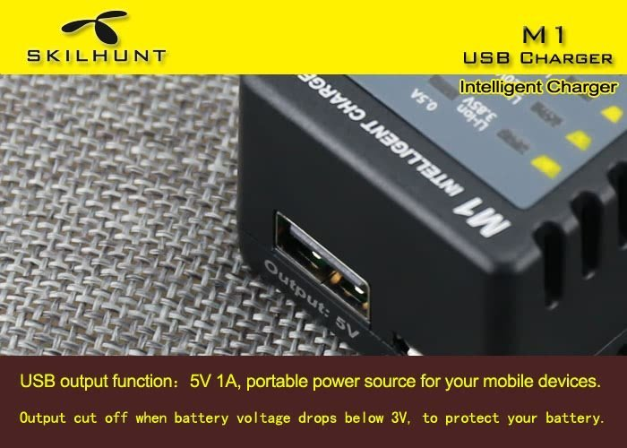 M1 Intelligent USB Charger Show Spices 8
