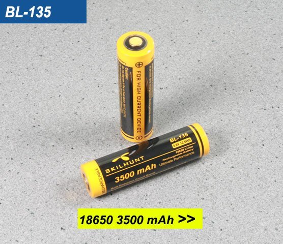 BL-135 18650 3500mah battery 1
