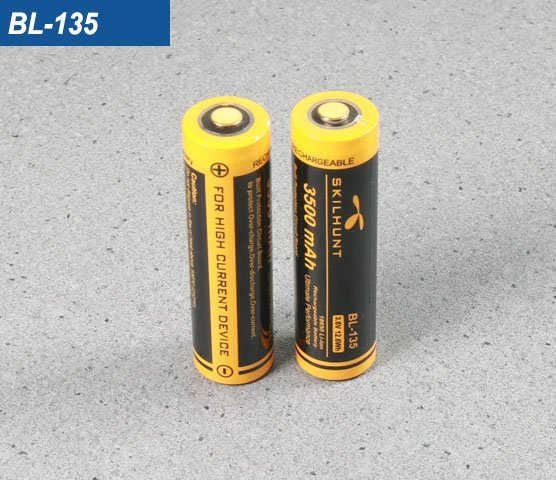 BL-135 18650 3500mah battery 2