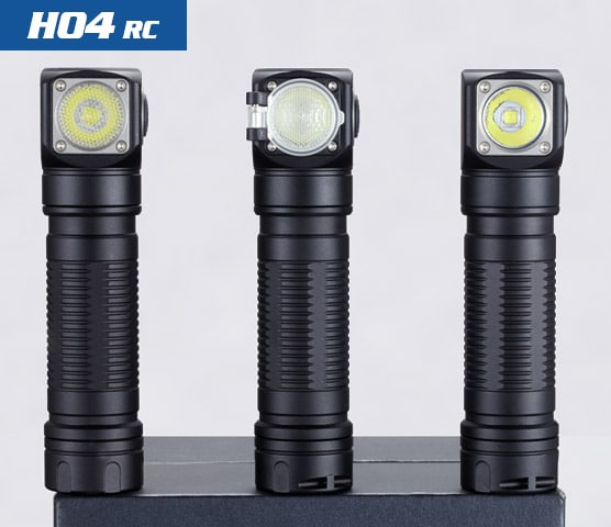 H04 RC led headlamp
