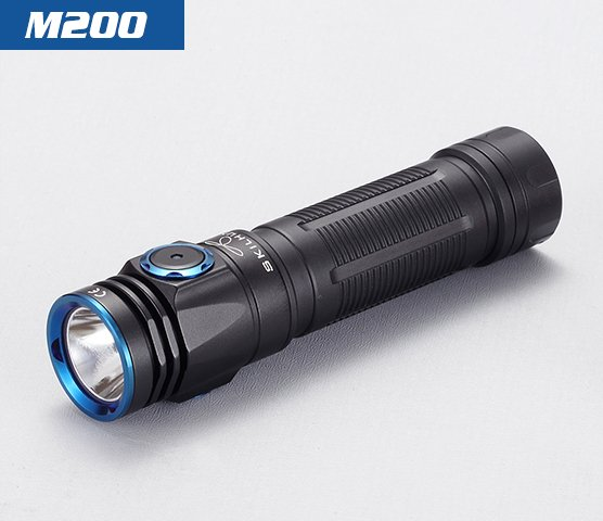 skilhunt M200 18650 led flashlight