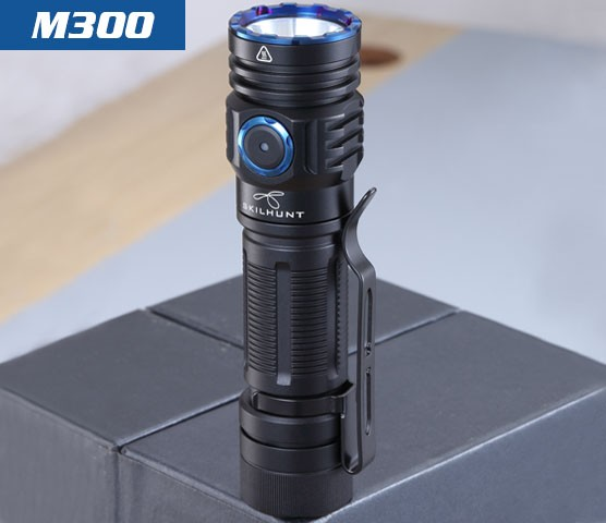 skilhunt m300 flashlight