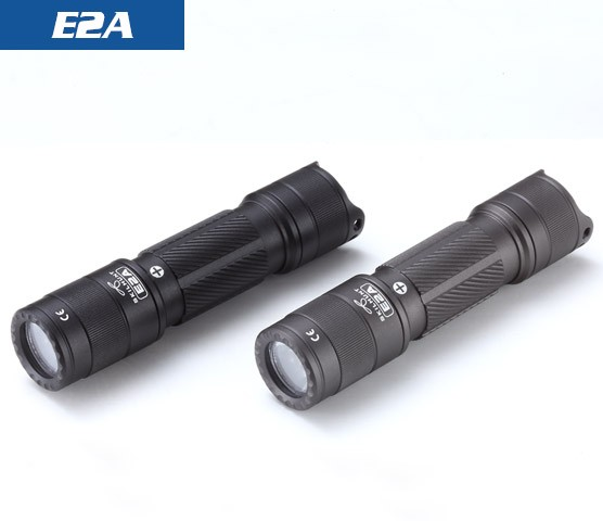 E2A 14500 / AA 600 lumens Compact Pocket EDC Mini LED Flashlight
